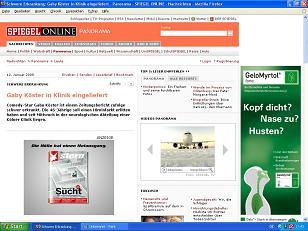 Stern Werbung bei Spiegel Online